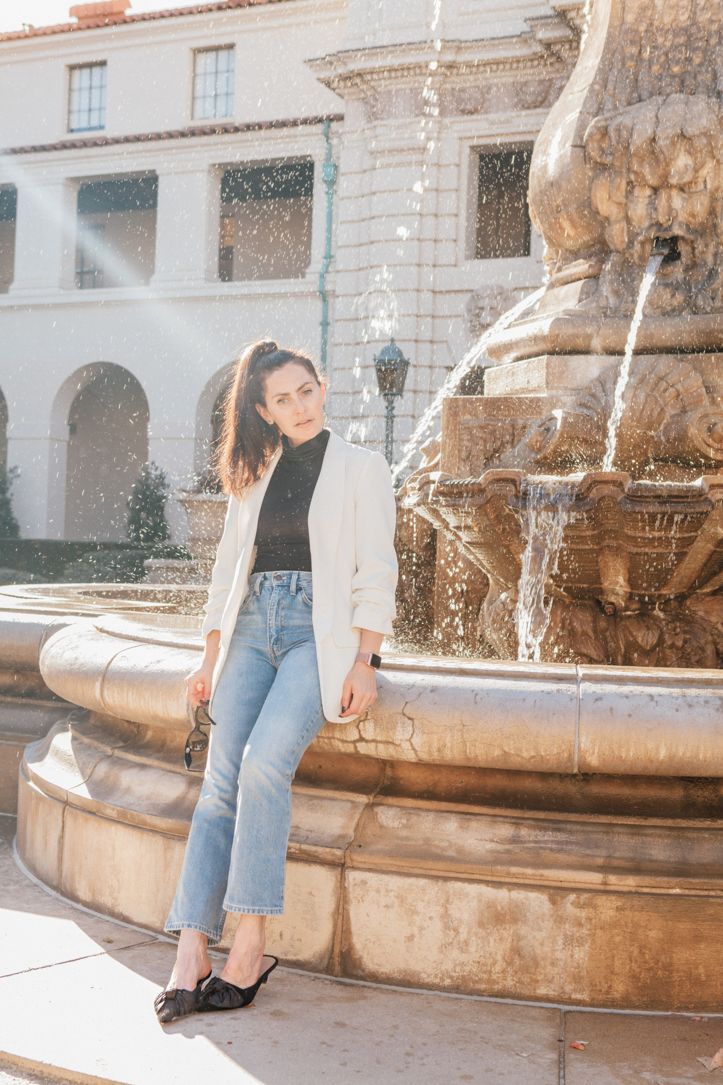 Los Angeles blogger, RELish By Arielle wears Levis