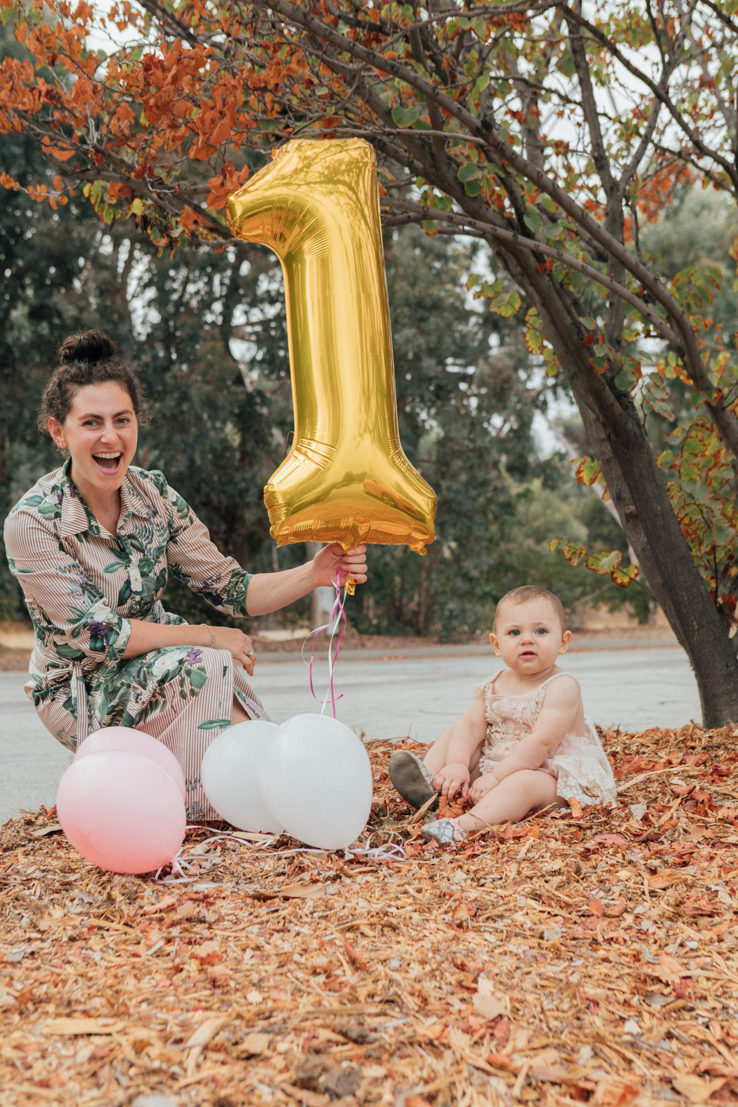 Los Angeles mom blogger, RELish By Arielle shares photos from her daughter, Sadie's first birthday